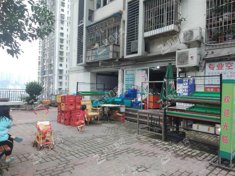 Z渝中长江一路大型小区百货超市蔬果+棋牌门面转让