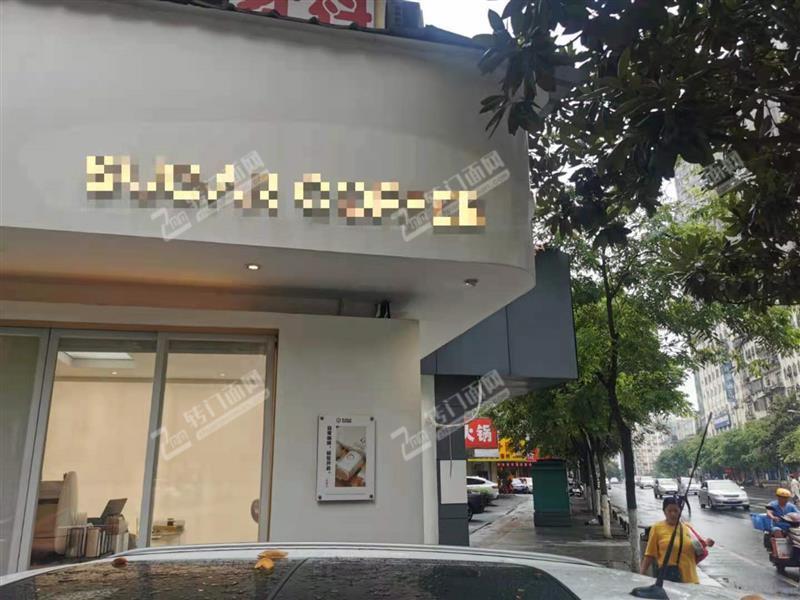 急转可空转主干道临街转角成熟咖啡馆