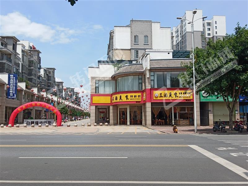 赣县白鹭湾小区步行街转角位置早餐店低价转让